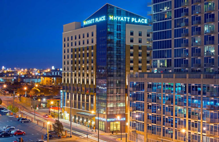DHC Services to the New Hyatt Place Hotel in Nashville, TN