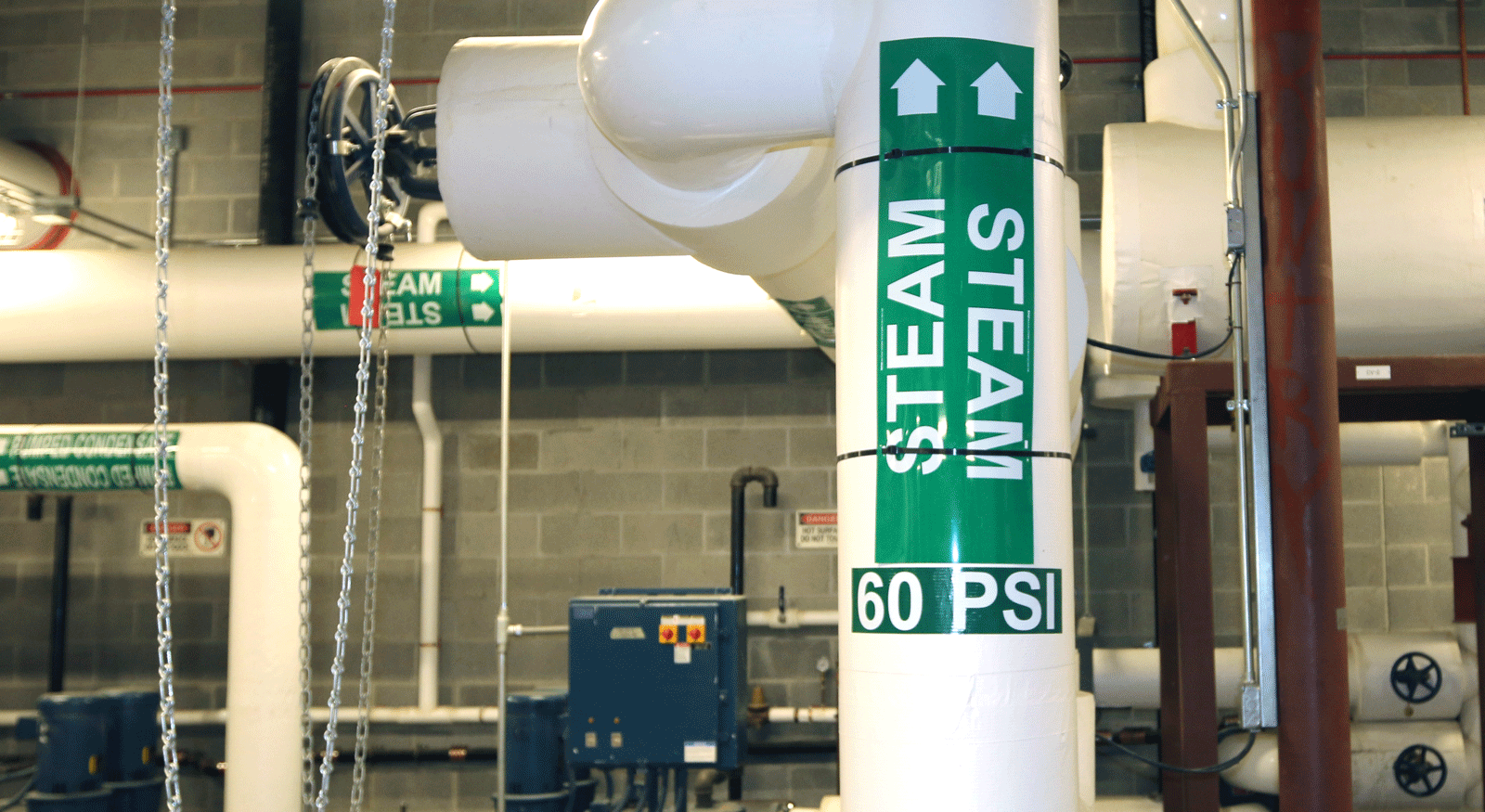District Heating Steam To Buildings