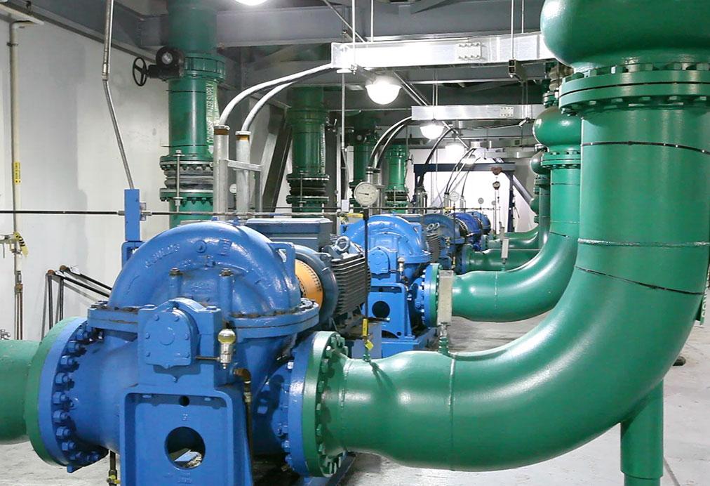 Chilled Water Pump Motors